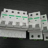 Disyuntores de corriente continua de 1p, 2p, 3p, 4p DC no polarizados con certificados TUV (1A, 2A, 3A, 4A, 6A, 10A, 154A, 16A, 20A, 25A, 30A, 32A, 40A, 50A