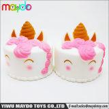 L'unità di elaborazione molle Squishies aumentante lento ha sentito il giocattolo Squishy di compressione della torta dell'unicorno