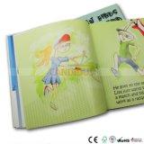 Impression de livre de couverture molle de grippement parfait/impression livre de magasin