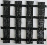Haustier-Verzerrung gestricktes Polyester 100kn/M Geogrid