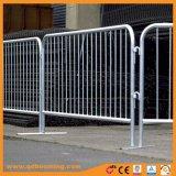 Оцинкованный пешеходных беспорядками барьер