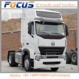 중국 Cnhtc HOWO A7 420HP 트랙터 헤드 트럭, 운반 끝 트랙터