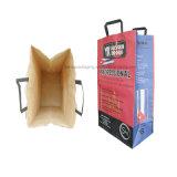 Sac en papier Kraft au charbon de bois en bois