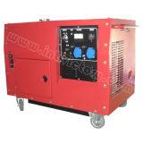 super leiser kleiner beweglicher Generator des Treibstoff-6kw mit CE/CIQ/ISO/Soncap