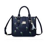 Retro Style Ladys Embroidery PU Handbag mit Tassel Wzx1039