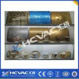 Macchina di titanio della metallizzazione sotto vuoto dell'oro PVD del nitruro di Hcvac, strumentazione del rivestimento dell'oro dello stagno
