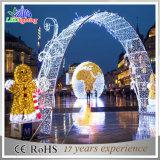 Décoration extérieure Paysage Fleur Décoratif Grand arc LED 3D Light