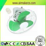 18 pulgadas que refrescan el ventilador eléctrico industrial de la pared del metal