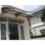 Pabellón/persianas del toldo del policarbonato vertidas para las puertas de Windows& (D1500A-L)