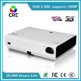 Brilho 1280X800 3D projetor DLP