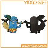Aimant de réfrigérateur personnalisé personnalisé en PVC pour cadeaux promotionnels (YB-FM-10)