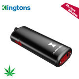 Cuadro Kingtons Mod E-cigarrillo negro de la ventana de hierba seca vaporizador con 2200mAh