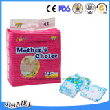 Good Absorbency Cotton Topsheet를 가진 처분할 수 있는 Diapers