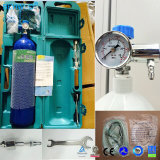 Cylindre en acier 4L'alimentation en oxygène Oxygène fixé pour l'hôpital de vérin