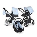 Europäischer Standard-Art-Baby-Spaziergänger 3 in 1 China-Luxuxbaby-SpaziergängerPram