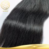 Trama d'oltremare umana dei capelli Remy della donna della Cina del nero brasiliano diritto non trattato grezzo all'ingrosso poco costoso del Virgin