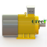 4KW 500tr/min, 3 générateur de phase magnétique AC générateur magnétique permanent, le vent de l'eau à utiliser avec un régime faible