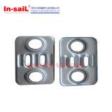 La courbure de Z encadre la plaque d'alliage d'aluminium de T3 A2017