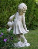 Sculptées en pierre mignon petit ange buste Statue