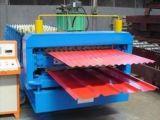 El IBR & Metal Ondulado Panel del techo rollo formando el frío que hace la máquina