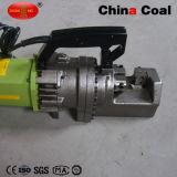 Machine de découpage électrique hydraulique automatique portative de barre en acier de coupeur de Rebar