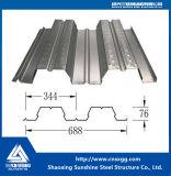 Strati galvanizzati di Decking di sostegno del pavimento d'acciaio per l'alta costruzione di aumento