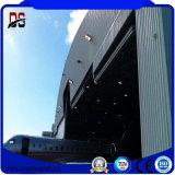 Hangar prefabricado del taller de Warehoue de la estructura de acero de los edificios del metal