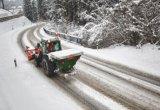 눈 녹는 에이전트로 이용되는 칼슘 염화물