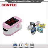 Punta delle dita poco costosa Ce/FDA dell'ossimetro di impulso dell'adulto LED di Contec del fornitore della Cina