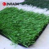 Het natuurlijke Groene Kunstmatige Gras van het Voetbal
