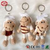 Giocattolo ASTM della bambola della peluche di Keychain delle pecore delle ragazze Nizza Pendent