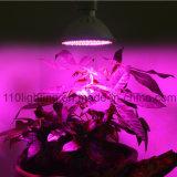 El LED crece la lámpara ligera de la planta de E27 20W 166 LED