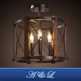 Промышленная потолочная лампа канделябра типа для живущий столовой комнаты