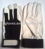 Кожаный Перчатк-Работая перчатка Перчатк-Безопасности Перчатк-Веса поднимаясь