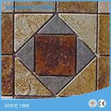 築壁およびフロアーリングのためのスレートのモザイク網のタイル