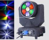 Indicatore luminoso capo mobile del fascio dell'occhio 7 LED dell'ape di DMX 7* 10W/indicatore luminoso del fascio