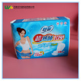 300mmの乾燥した網の表面の女性の綿の網の表面の生理用ナプキン