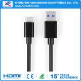 USB3.1 Typ C bis USB2.0 ein männliches Daten-Synchronisierungs-Ladung-Kabel