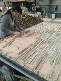 Acabado liso laminado Blockboard para 1220x2440mm