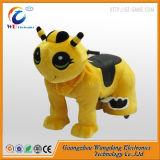 Plüsch-Schwingpferden-motorisierte Tier-Lieferanten in Guangzhou