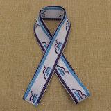 공급 주문 로고에 의하여 인쇄되는 파란 수화물 결박