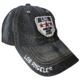 Помыть джинсовой Папа Red Hat с логотипом Gjdm Nice1103