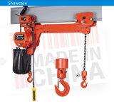 Velocidad Doble 5t polipasto eléctrico de cadena con la carretilla
