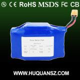 OEM / ODM 18650 de la batterie Li-ion 3,7 V 10,2Ah bloc-batterie Li-ion
