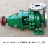 Tipo bomba centrífuga química a presión de ISO2858 Ih de la descarga de aguas residuales