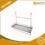 Rostfreier Draht-Stahlspeicher-Küche-Badezimmer-Kostenzähler-Bildschirmanzeige-Zahnstange