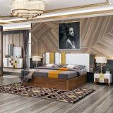2인용 침대 (202)를 가진 고아한 현대 침실 가구