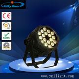 18pcs 4en1 blanc chaud LED blanc froid et peut par la lumière intérieure