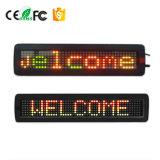 Schermo di visualizzazione del segno dell'automobile di P7.62-7X40 LED che programma il segno della visualizzazione di Scrolling del LED