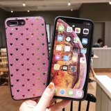 Love Heart Glitter fashion Hot TPU de vente de couverture de Huawei